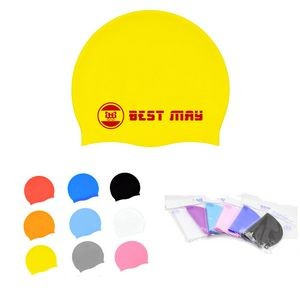 Silicone Swimming Cap For Adult