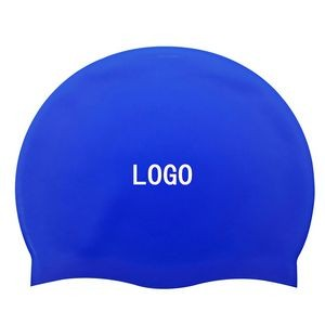Adult Waterproof Silicone Swimming Cap